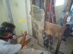 Removal of Contaminated Drywall